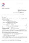 TOTAL - Accordo tecnico CTG
